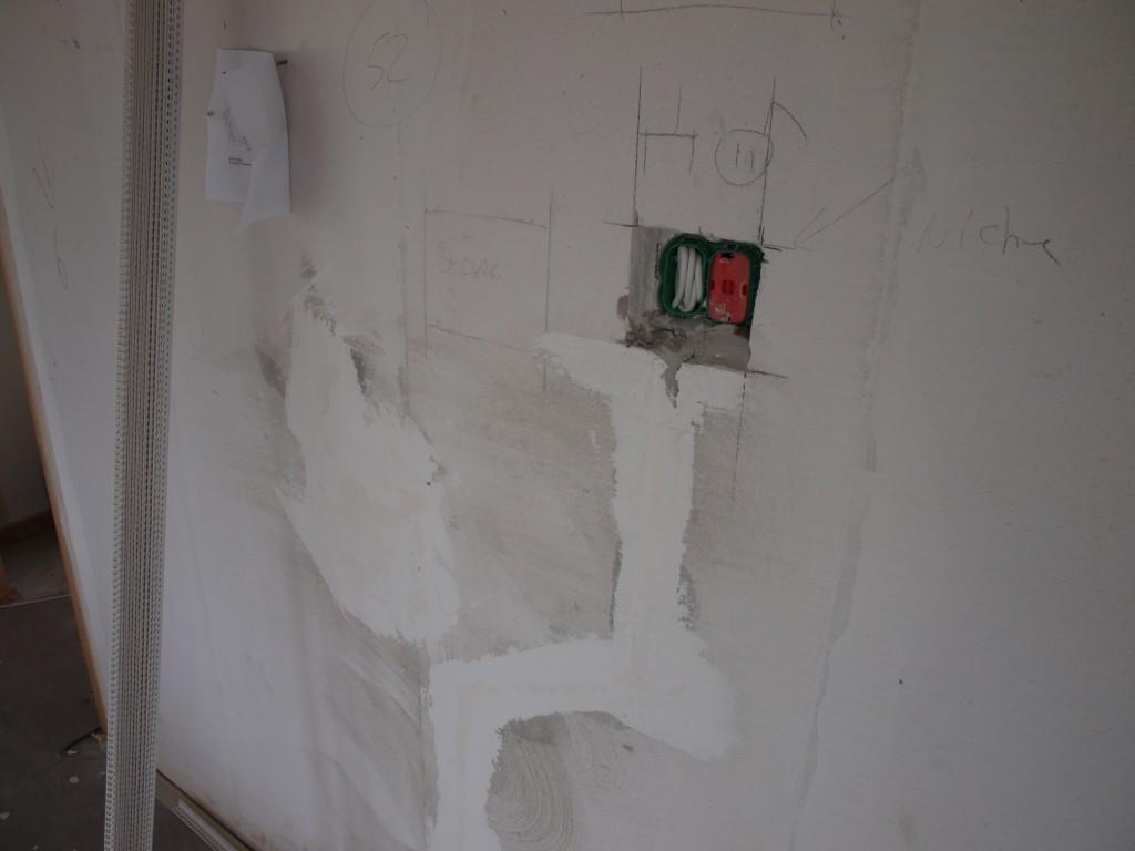 Nichen i køkkenet - udfordring til maleren.