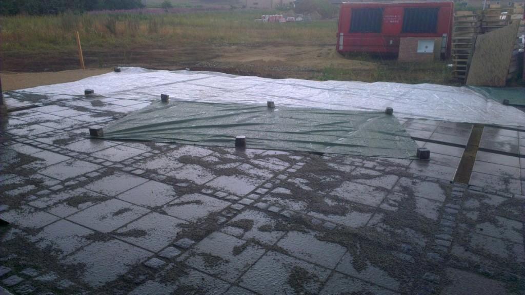 Lidt regn blev det også til...